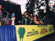 "Performing with ""El Chicano"" 1990s"