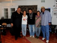 From left to right, Lorenzo Martinez, Cuicani, Juan Carlos Sorez, Kat Roman and Bobby Chavez